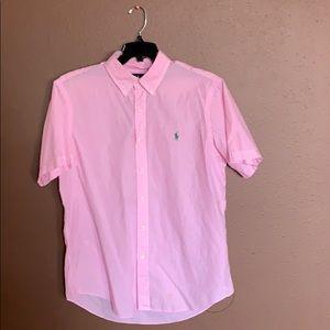 Polo by Ralph Lauren Pink button down shirt L